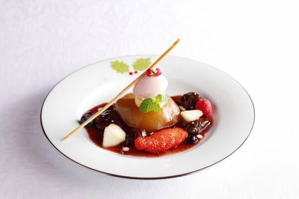 資生堂パーラーにクリスマス限定のパフェやいちご・洋梨を使ったデザートが登場!