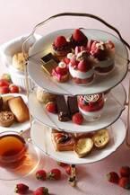 ウェスティンホテル東京のいちごの祭典、アフタヌーンティーやブッフェで約100種類のいちごスイーツ