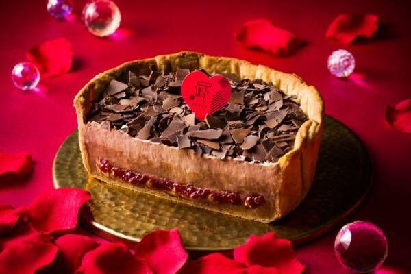 パブロの甘酸っぱく濃厚な新作、「ショコラとフランボワーズのLOVEチーズタルト」で華やかに彩るバレンタイン