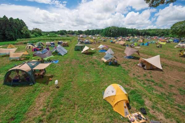 千葉郊外の広大な牧場に「一番星ヴィレッジ」が今年もオープン! 手ぶらで楽しむキャンプ