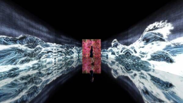 チームラボの個展「永遠の海に浮かぶ無常の花」が金沢21世紀美術館で8月開催