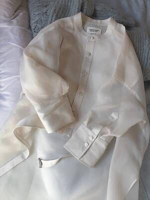 """ビューティフルピープルのドレスシャツ、""""日常の中にある 大切で待ち遠しくて特別な日"""" に着たい服【EDITOR'S BLOG】"""