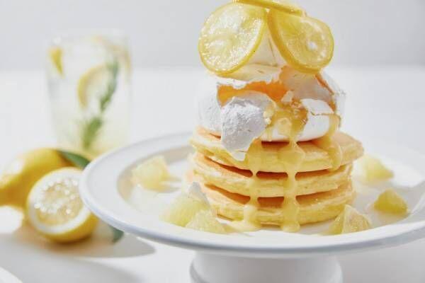 パンケーキ、パフェ...瀬戸内レモンづくしのJ.S. パンケーキカフェ夏限定メニュー!
