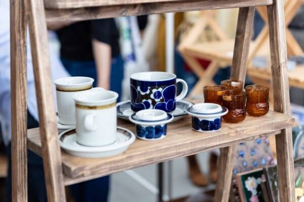 いよいよ今週末、2019年春の「東京蚤の市」5月11日・12日開催! 世界のお茶が楽しめるブースも登場