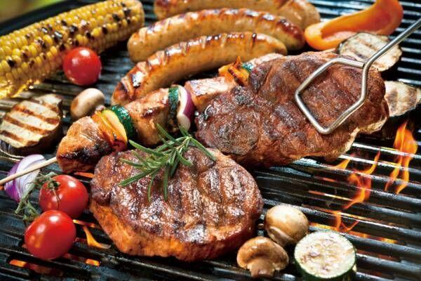 池袋パルコ屋上で手ぶらBBQ、お肉食べ放題のハワイアンビアガーデン