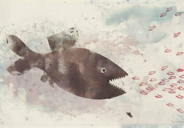 『スイミー』の原画が初来日! 絵本作品など約200点を展示する「みんなのレオ・レオーニ展」開催