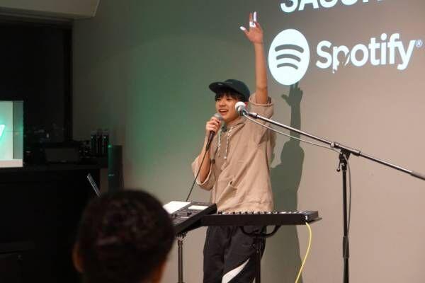 若き才能、16歳になったばかりのSASUKEが魅せた特別なライブ【レポート】
