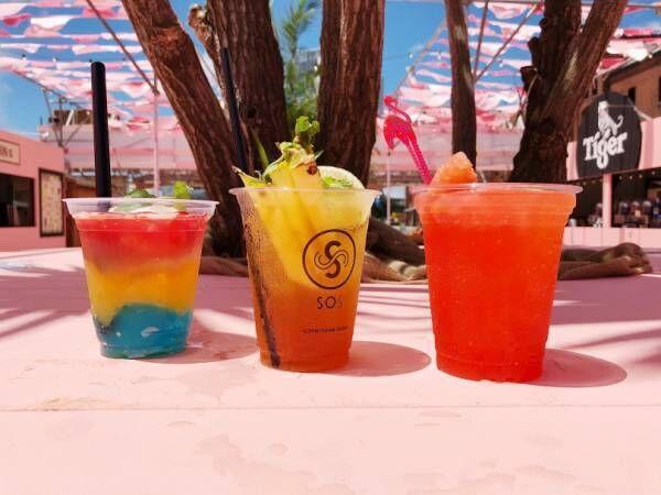横浜赤レンガ倉庫に砂浜が出現! フードとお酒が楽しめる夏イベントがスタート