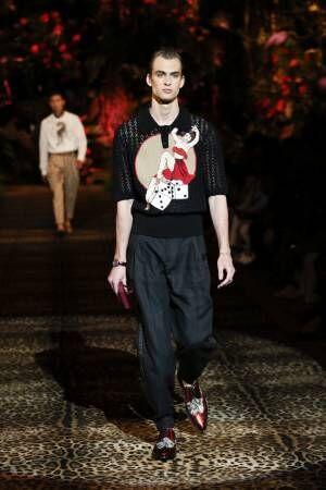 【ルック】ドルチェ&ガッバーナ2020春夏メンズコレクション