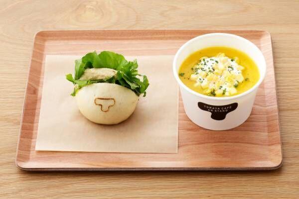 トラヤカフェとあんスタンドに、夏限定スイーツや季節の野菜を楽しめるメニューが登場