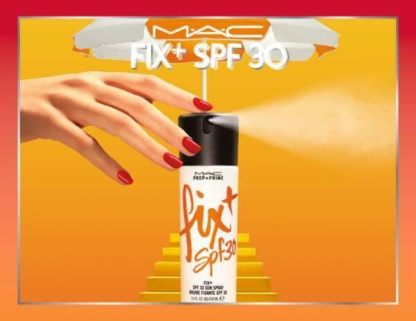 メイクの上からシュッと一拭き! M・A・Cよりメイクをフィットさせ、UV効果もある化粧水が登場