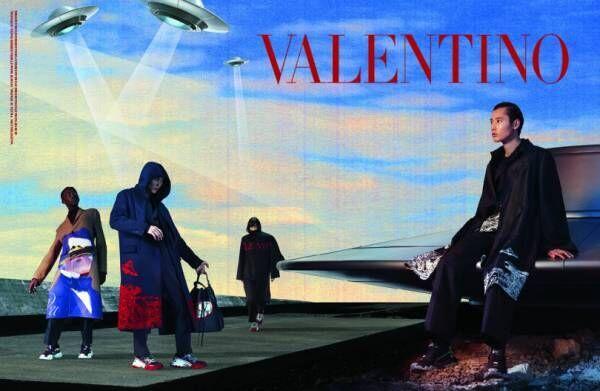 ヴァレンティノ×アンダーカバーの秋冬メンズが発売! 高橋盾による広告ビジュアルも公開