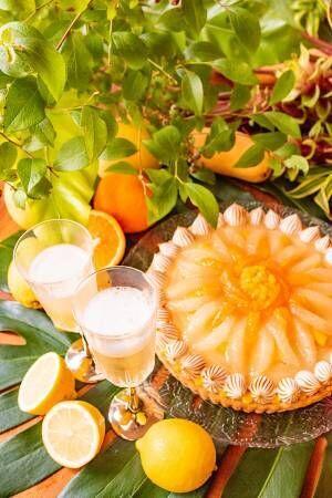 キル フェ ボンから3種の柑橘のタルトが登場! シュワっとした炭酸飲料と相性抜群の味わい