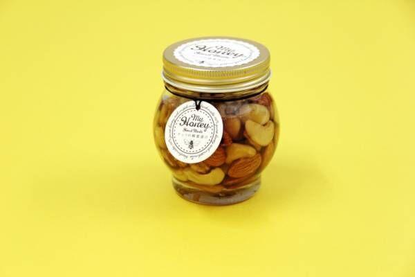 MY HONEY「ナッツの蜂蜜漬け」、100%無添加&砂糖フリーのはちみつ【絶対喜ばれる! 夏の手土産】