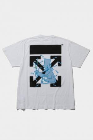 フラグメントデザイン×オフホワイト「OFF-WHITE™️ c/o FRAGMENT」のコラボTシャツ発売