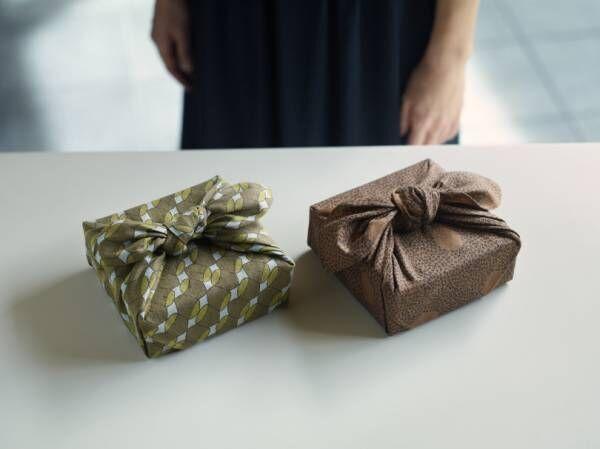 ミナ ペルホネンデザインの和菓子がとらやに登場! ふろしきと巾着も数量限定で発売