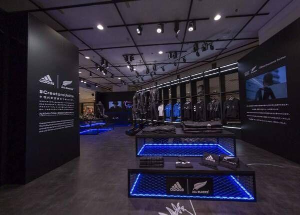 新宿伊勢丹でラグビー「オールブラックス」のポップアップストアが開催、ワイスリーによる限定コレクションも