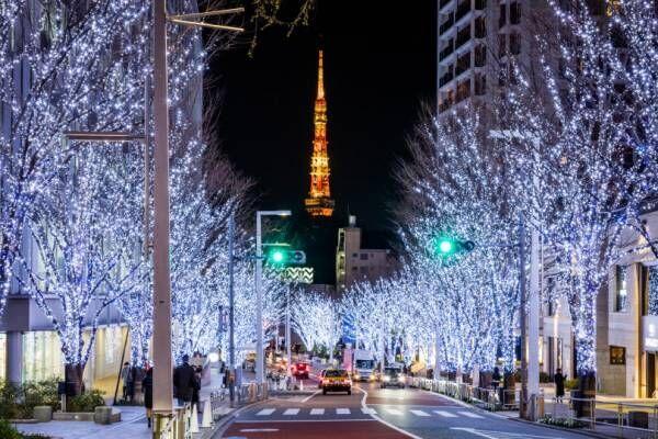 六本木ヒルズのクリスマス、今年もけやき坂通りイルミネーションやクリスマスマーケットなどを開催