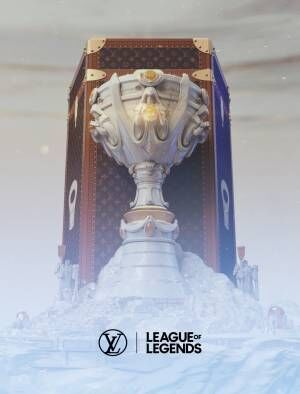 ルイ・ヴィトンがeスポーツ「リーグ・オブ・レジェンド」世界大会のトロフィーケースを制作