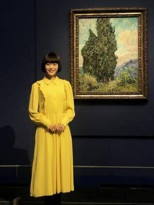 杉咲花がオープニングを飾る。「ゴッホ展」が明日、上野の森美術館で開幕