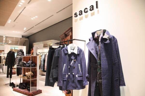 sacaiの新ストアが渋谷スクランブルスクエアにオープン! ダウン×デニムの限定ジャケットを発売