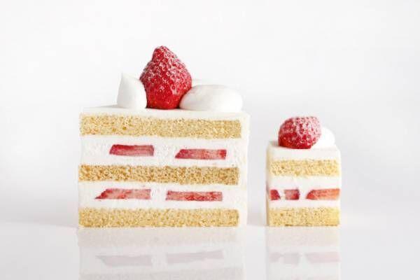 スーパーあまおうショートケーキも登場、ホテルニューオータニでいちごスイーツビュッフェ開催