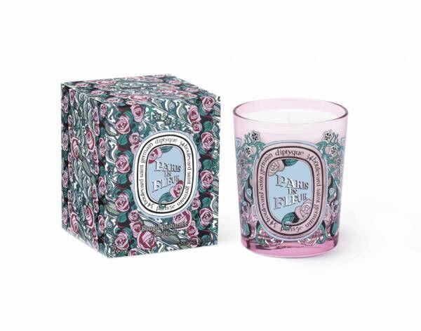 """ディプティックより初の""""シプレ系""""の香り、バラが描かれた新作フレグランスやキャンドルが登場"""