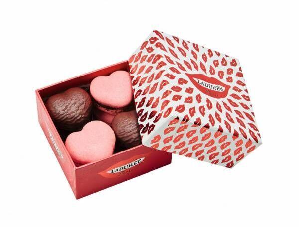ラデュレの2020バレンタインは、ハート形マカロンやパステルカラーのショコラ