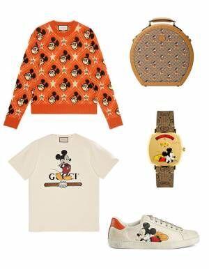 """ディズニー X グッチ、""""ミッキーマウス""""の限定コレクション! ディズニーランドで撮影された広告キャンペーンも"""