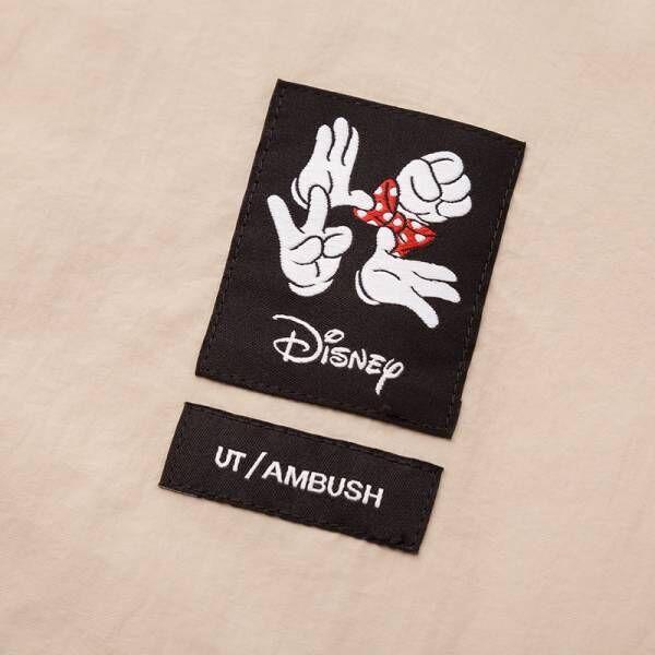 ミニーマウスをモチーフにしたアイテムを、UT×アンブッシュより発売! Tシャツや帽子などがラインアップ