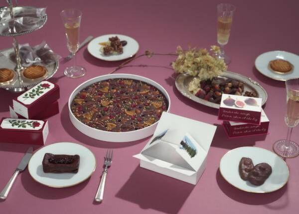 ルル メリーからイチヂクのショコラテリーヌと季節のタブレットが限定発売。バレンタインギフトにも