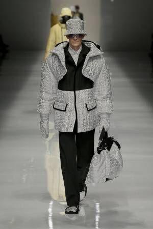 【ルック】フェンディ2020-21秋冬メンズコレクション、アンリアレイジとのコラボアイテムも