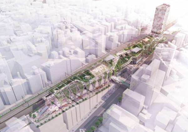渋谷・宮下公園が「MIYASHITA PARK」に、商業・ホテルが一体となった低層複合施設が誕生