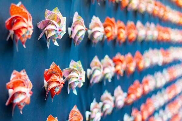 """【開催中止】横浜赤レンガ倉庫に和モダンな庭園が登場、約2万株の草花で伝統柄""""文様""""を表現"""