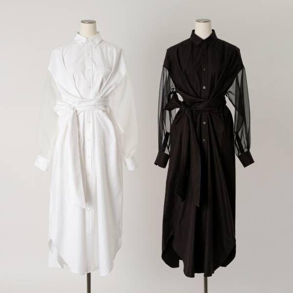 HYKEのポップアップが10周年を迎えるBIOTOPで開催。限定のシャツドレスとバッグが登場