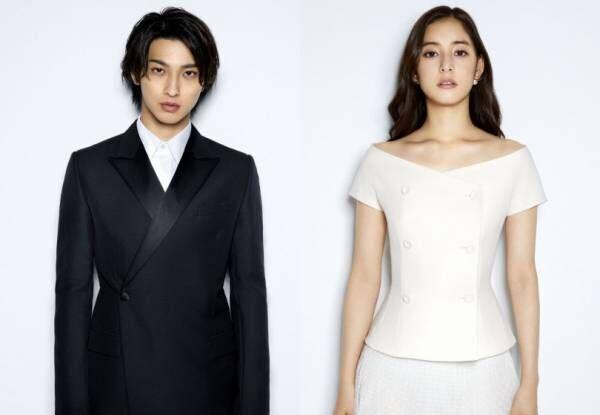 新木優子と横浜流星がディオールのファッション ジャパン アンバサダーに