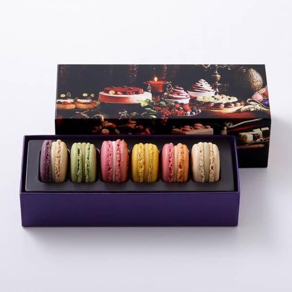 ピエール・エルメ・パリ、母の日のためのギフトコレクション。カラフルなマカロンやハートのケーキ