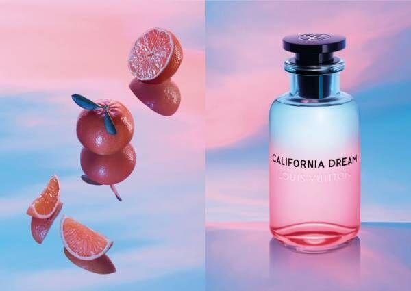 """ルイ・ヴィトンの新作フレグランス。夏の日の幸福感、""""夕焼け""""の魅力を体現した香り"""