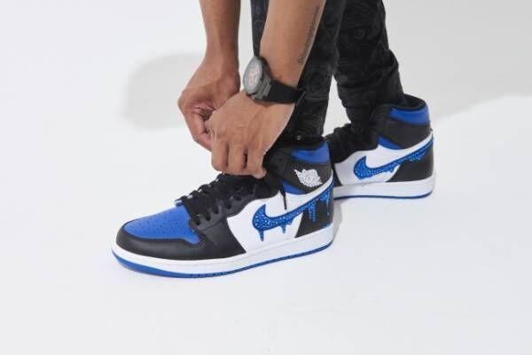 AJ1 HIGH ROYAL TOE DROP STONE BLUE