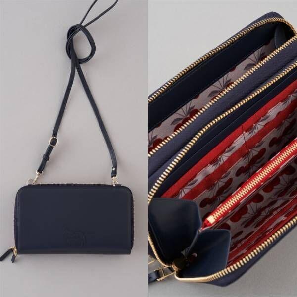 CACUMAのチェリー柄バッグ、渋谷PARCO「ほぼ日カルチャん」限定で発売