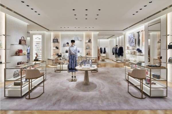 ディオール大丸札幌店が新たにオープン。国内百貨店で初めてウィメンズとメンズを一緒に展開