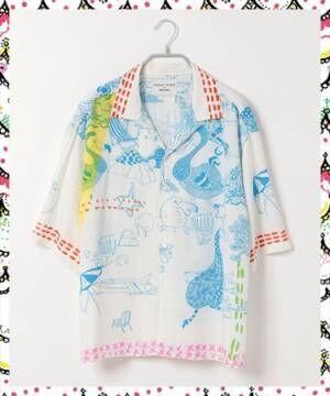niko and ... ×TSUMORI CHISATO大好評コラボ第二弾! 「キラネコ」をプリントした半袖Tシャツも
