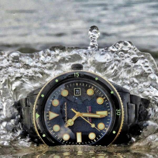 イタリア発の腕時計 スピニカーの「ケーヒルオールブラックリミテッドエディション」をTiCTAC update 渋谷パルコ店限定モデルで発売