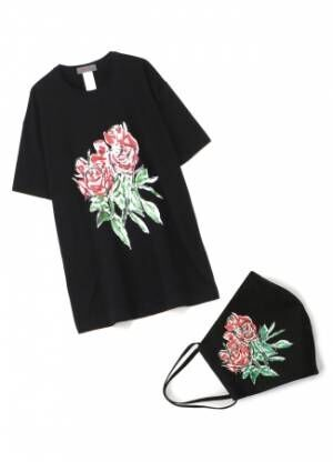 YOHJI YAMAMOTO +NOIR x 画家 朝倉優佳のT-シャツ+ マスク第2弾が発売