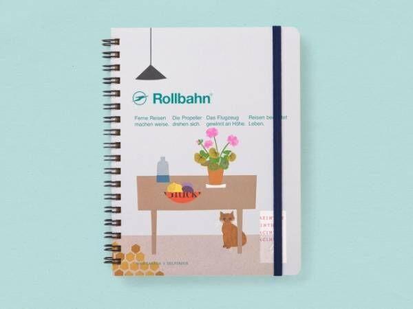 10組のアーティストとコラボ! 限定デザインのRollbahn(ロルバーン) ポケット付メモが登場
