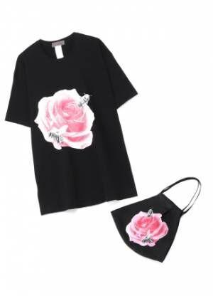 「YOHJI YAMAMOTO  +NOIR x 画家 内田すずめ 第2弾」Tシャツ+マスク vol.3を6月26日 18:00発売