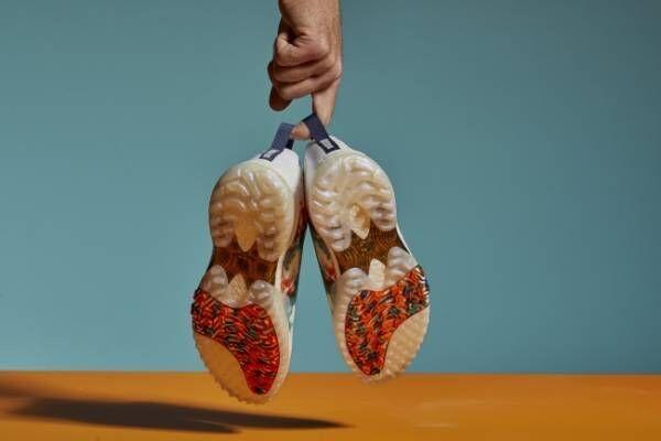 大人気の「コードカオス」がタイダイ柄デザインで登場! 夏の足元を飾るアディダスのゴルフシューズ