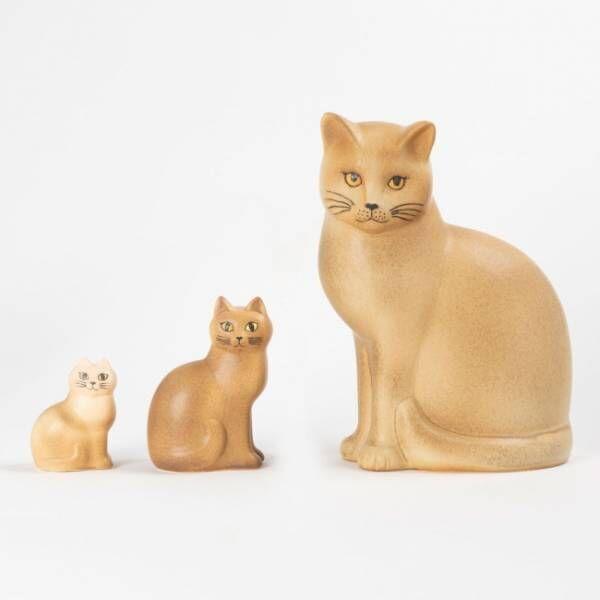 リサ・ラーソン作品を見比べて購入できるオンラインサイト、第3弾は「猫のマンズ」シリーズ
