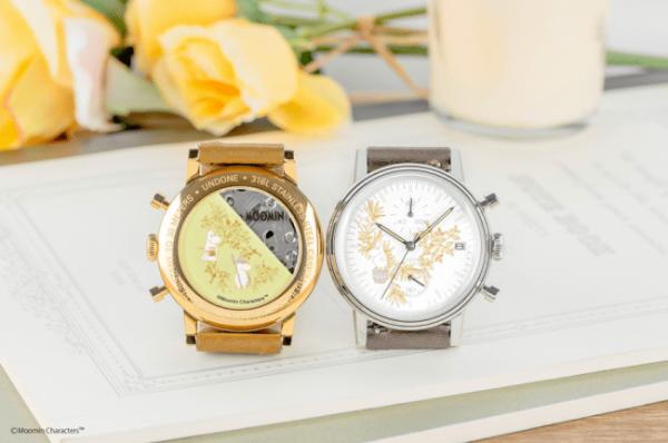 ほのかに漂う木の香りがする新素材ベルトがムーミンの世界観にピッタリ。ムーミンの腕時計の新シリーズが登場