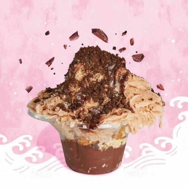 ソコラ アメ村店で味わえる、100%チョコレートの濃厚濃密な「かき氷」